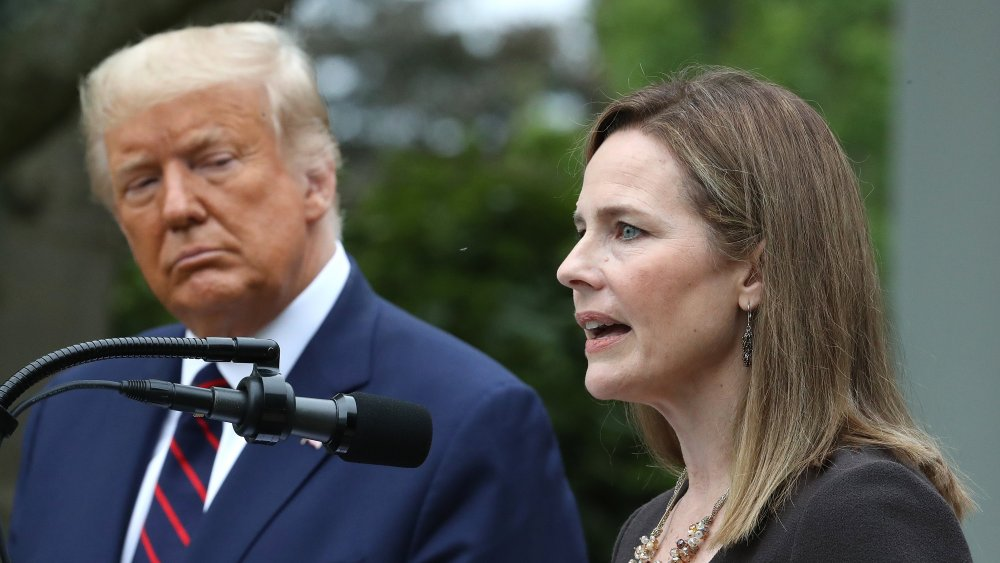 Trump announcement with Amy Coney Barrett