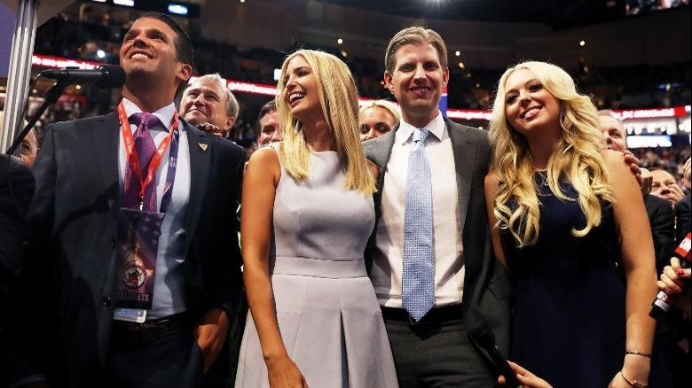 Trump siblings