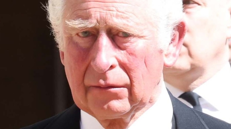 Prince Charles Prince Philip's funeral