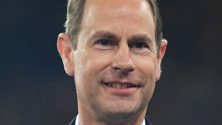 Prince Edward at event