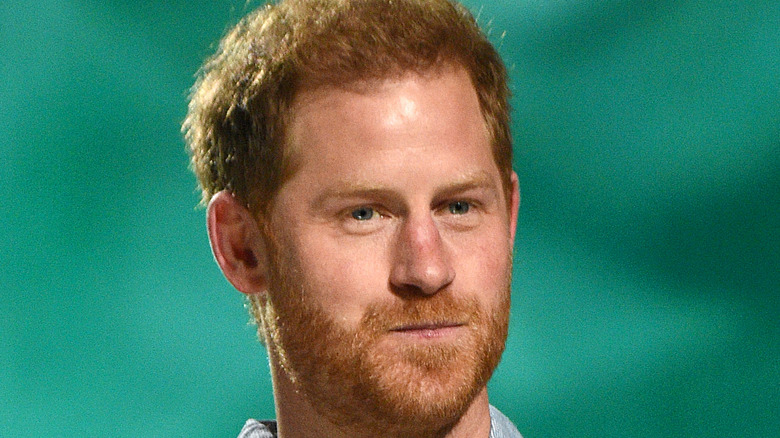 Prince Harry at VAX Live Concert.