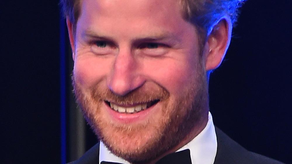 Prince Harry bow-tie