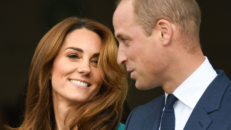 Kate Middleton and Prince William at an event