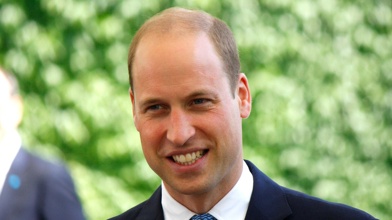 Prince William attending an event