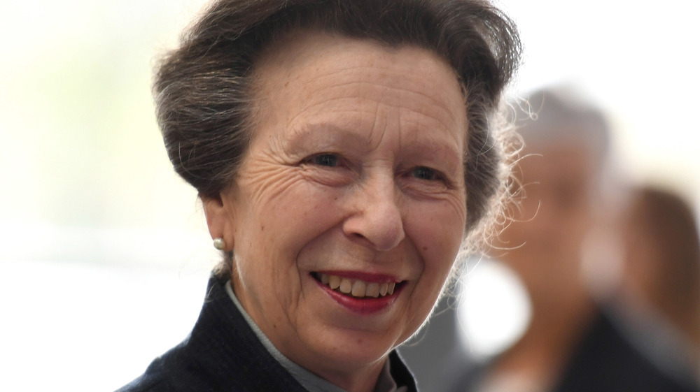 Princess Anne at a royal event