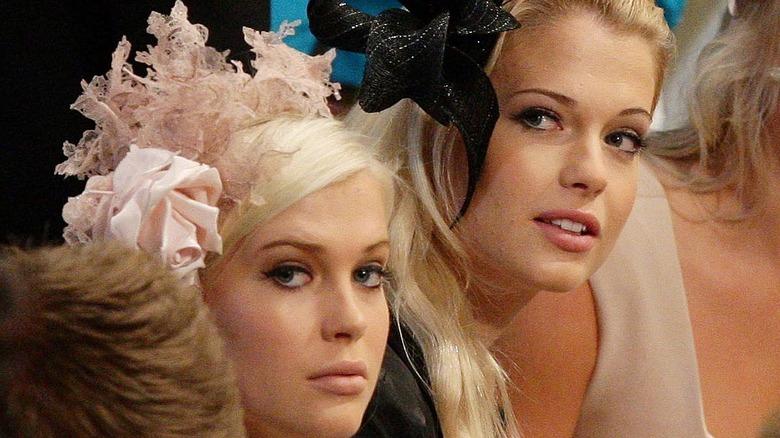 Lady Amelia and Lady Eliza Spencer at royal wedding