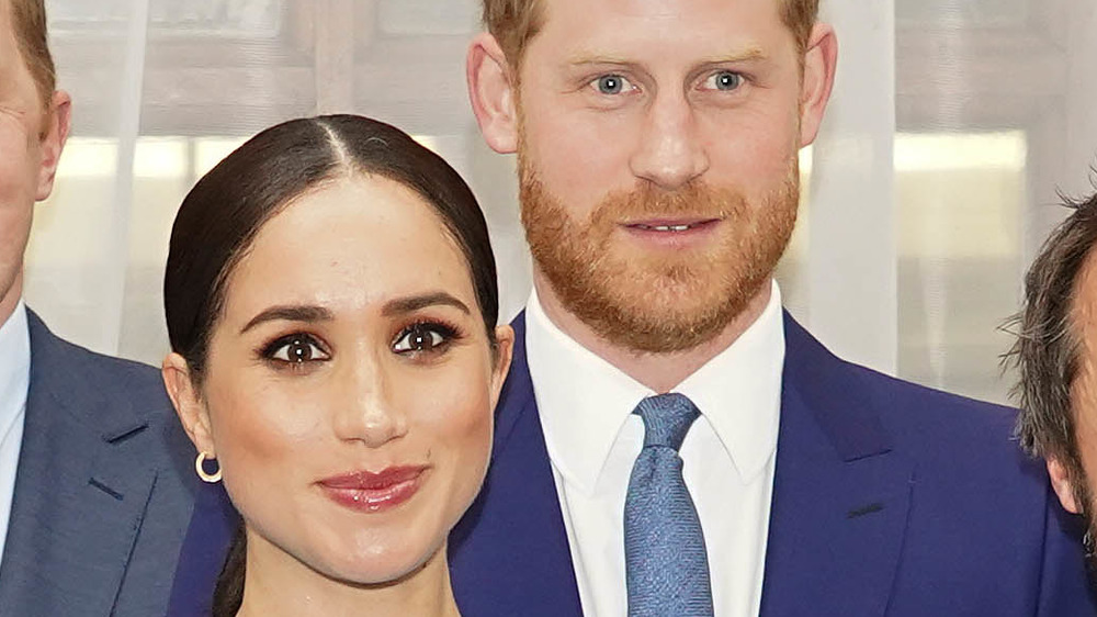 Prince Harry and Meghan Markle at UK event