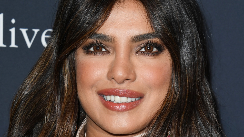 Priyanka Chopra smiles