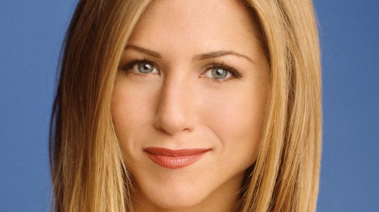 "Jennifer Aniston as Rachel in ""Friends"" close-up"
