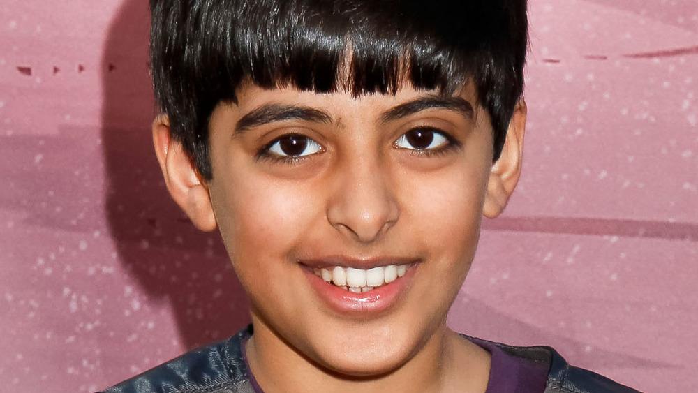 Karan Brar smiling, close-up