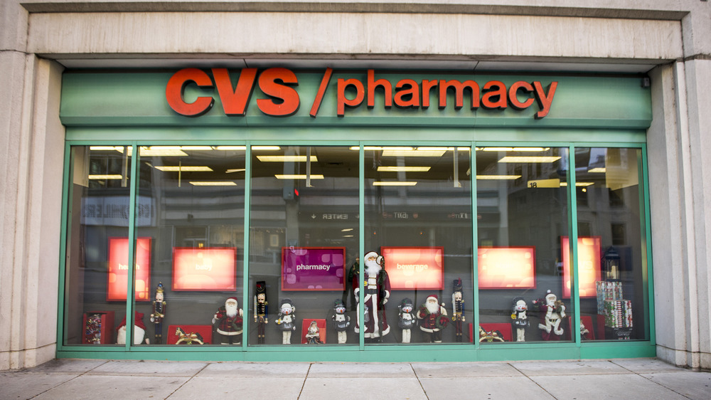 The exterior of a CVS store in Chicago