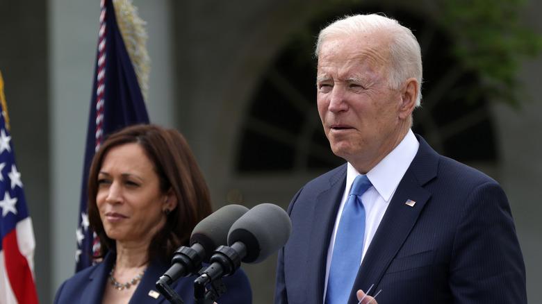 Joe Biden and Kamala Harris at the White House