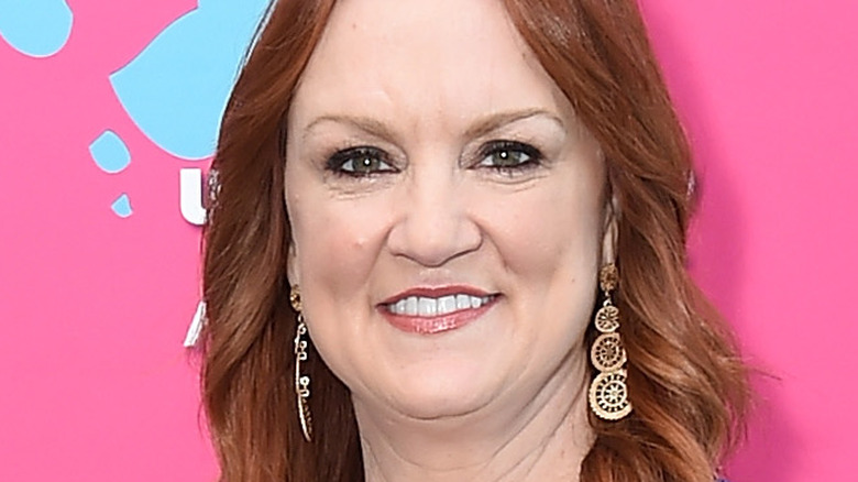 Ree Drummond poses at event