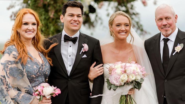 Alex Drummond and Mauricio Scott on their wedding day