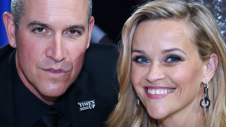Jim Toth and Reese Witherspoon smiling