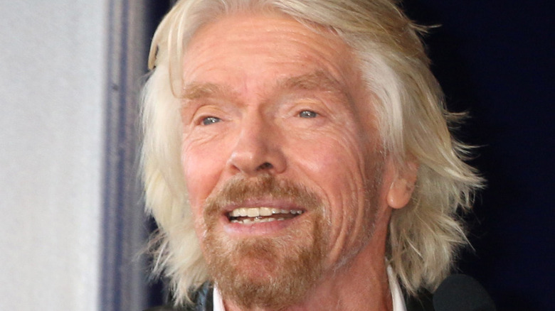 Richard Branson smiling