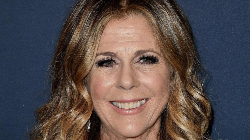 Rita Wilson smiling
