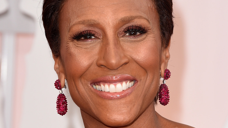 Robin Roberts on the red carpet
