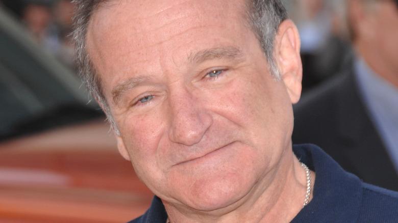 Robin Williams smiling