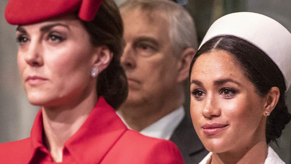 Meghan Markle Kate Middleton together