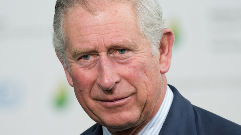 Prince Charles at an event.