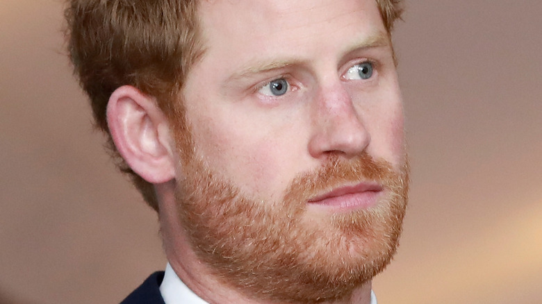 Prince Harry at an event in London