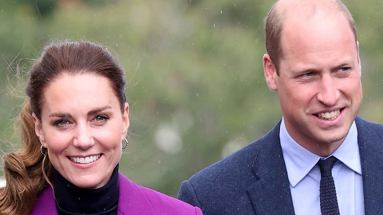 Prince William and Kate Middleton attending a royal event