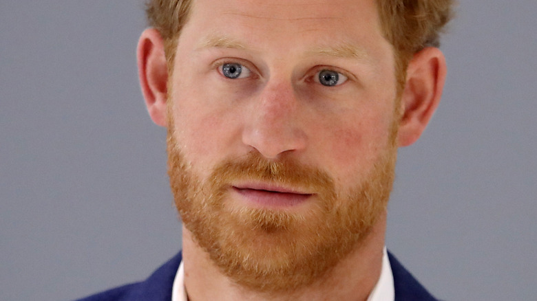 Prince Harry at an event.