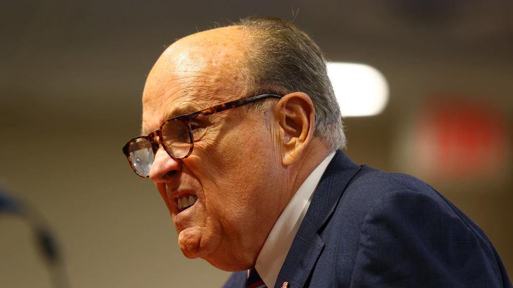 Angry Rudy Giuliani