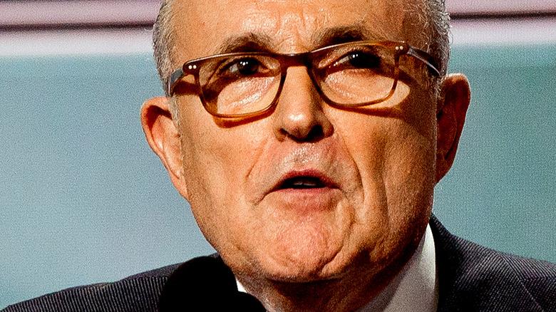 Rudy Giuliani in glasses
