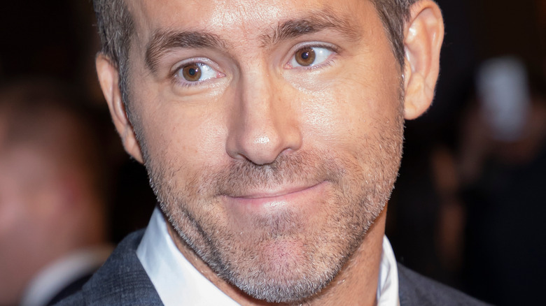 Ryan Reynolds' face