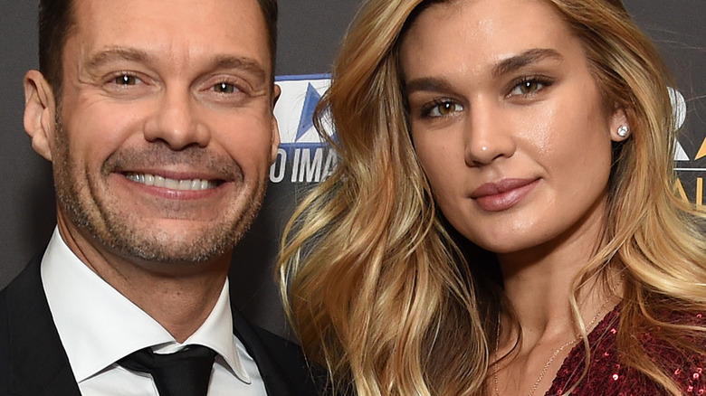 Ryan Seacrest and Shayna Taylor at event