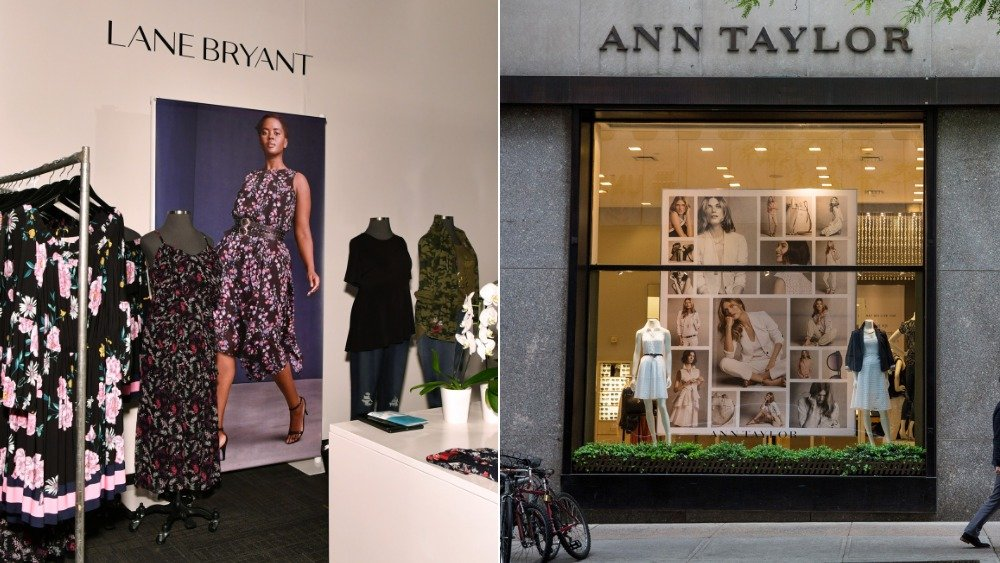 Lane Bryant and Ann Taylor stores