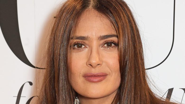 Salma Hayek in glasses