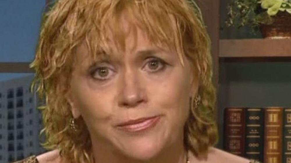 Samantha Markle speaks during an interview