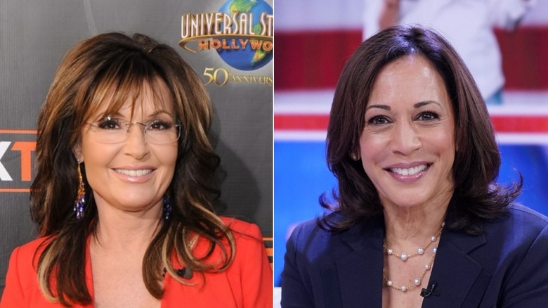 Sarah Palin, Kamla Harris