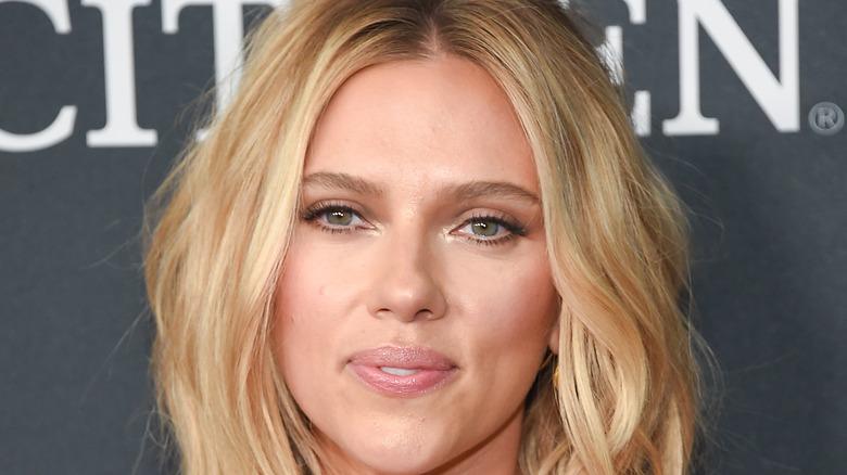 Scarlett Johansson on red carpet