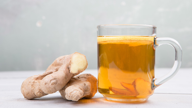 natural remedy Ginger tea