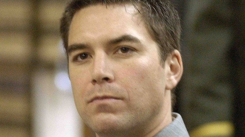 Scott Peterson looking away from the camera