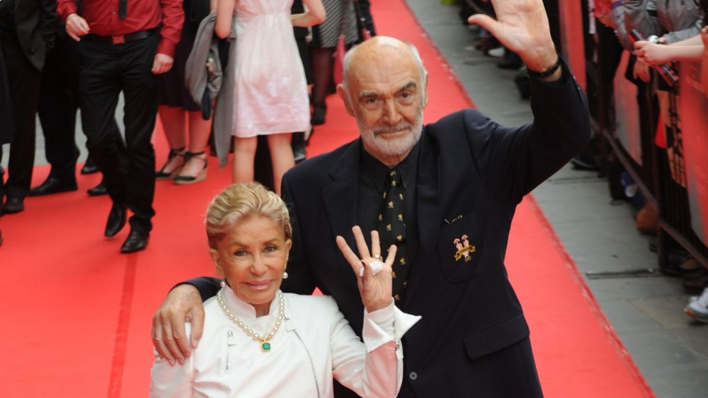 Sean Connery and Micheline Roquebrune