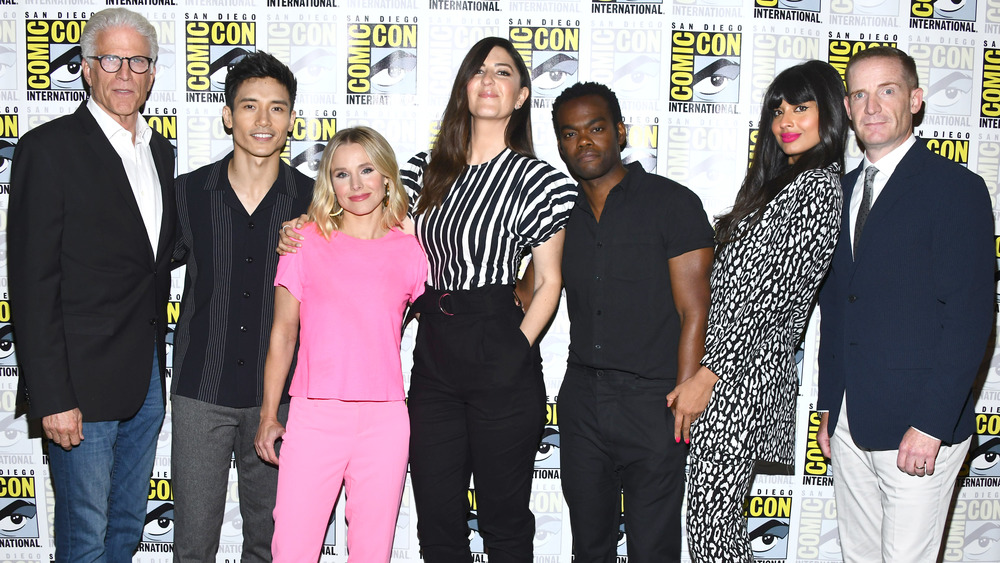 The cast of The Good Place at San Diego Comic Con