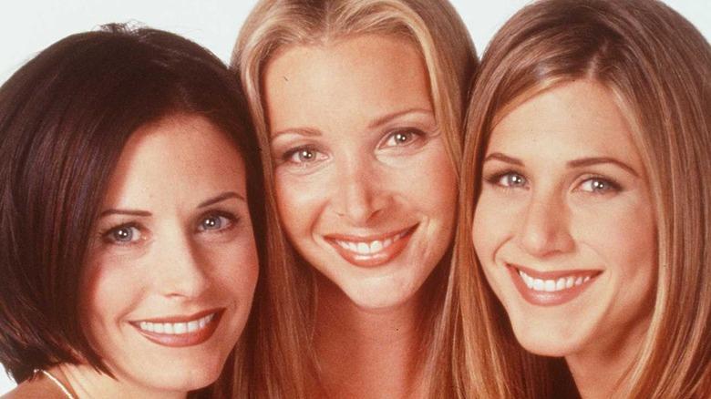 Courtney Cox, Lisa Kudrow, and Jennifer Aniston