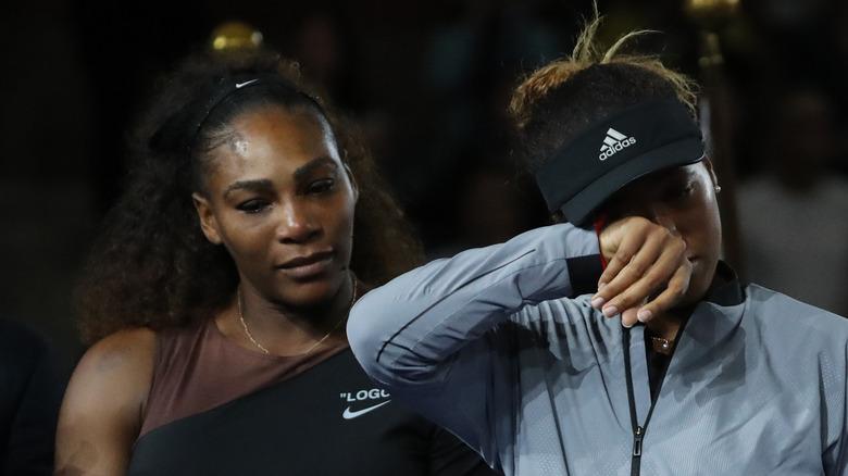 Serena Williams and Naomi Osaka in 2018