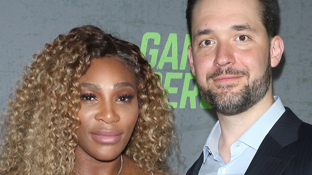 Serena Williams and husband Alexis Ohanian on the red carpet