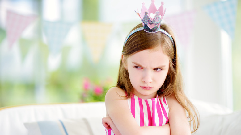 spoiled girl princess crown