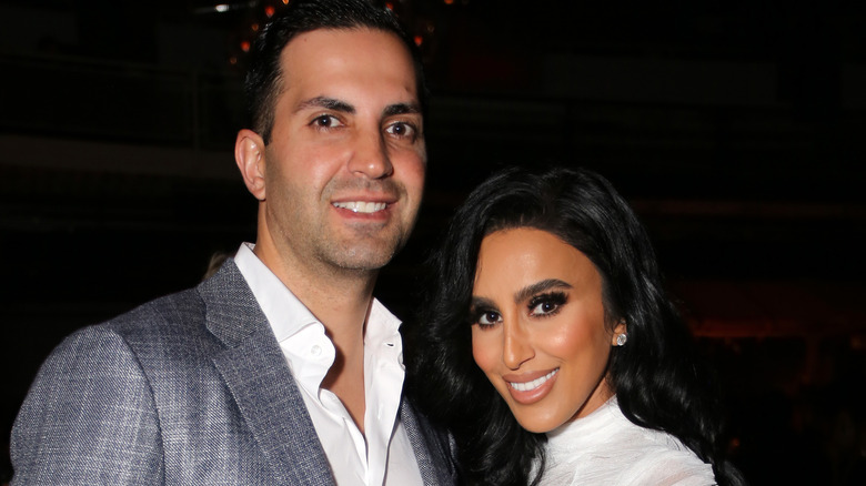 Lilly Ghalichi and husband Dara Mir before Mir filed for divorce