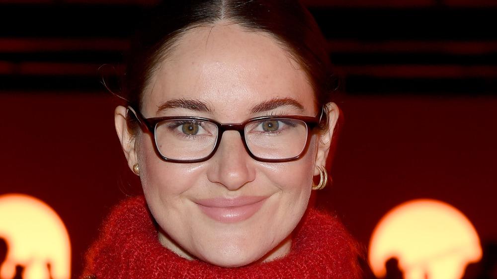 Shailene Woodley close-up