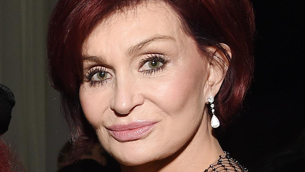 Sharon Osbourne at charity event