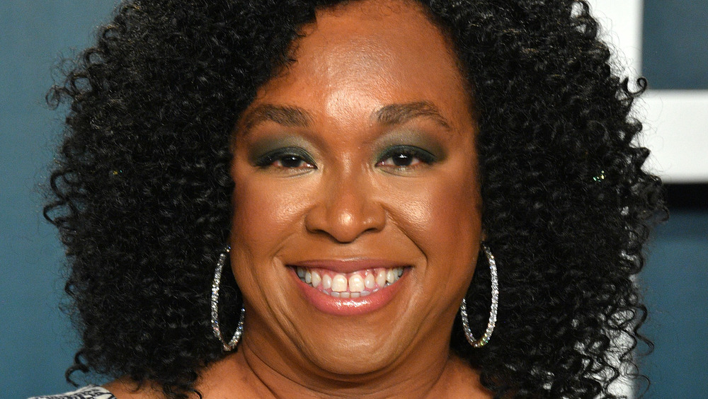 Shonda Rhimes smiles at an event