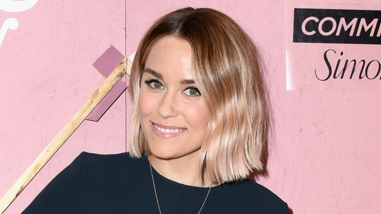Lauren Conrad with a short hairstyle